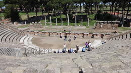Photo of Rome Ancient Ostia Small Group Day Trip from Rome Theatre