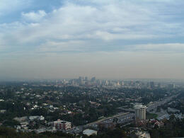 Photo of   Century City from Getty Center