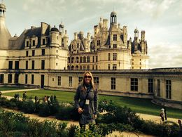 By the Chambord castle , Egija B - May 2015