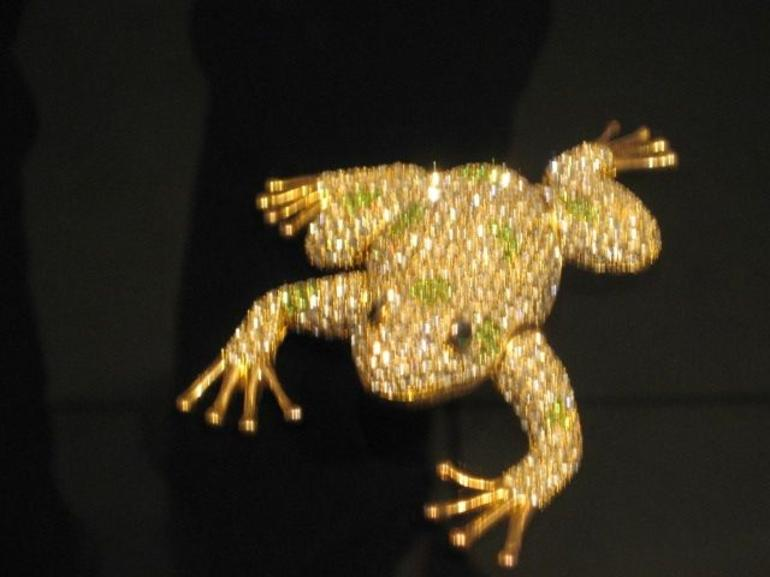 Diamond Encrusted Frog - San Jose