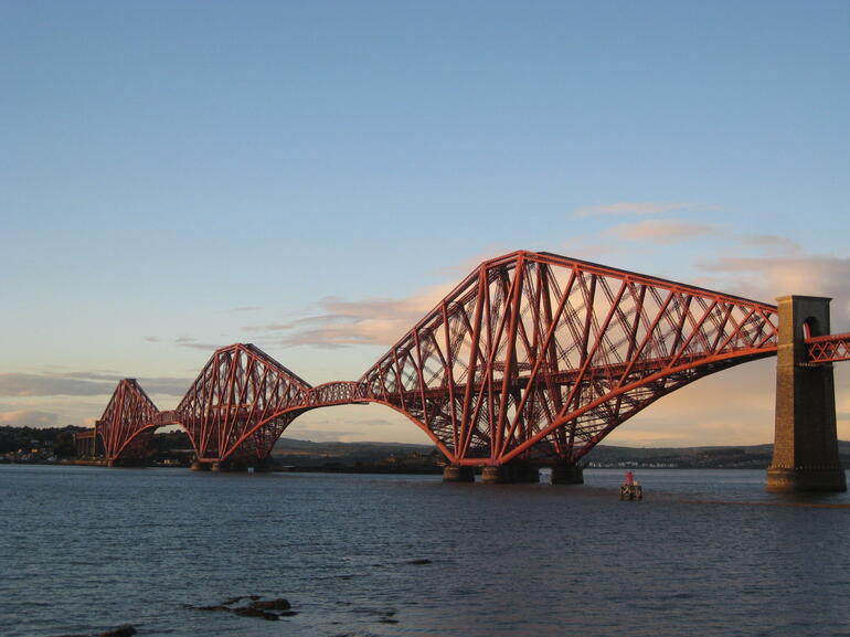 Firth of Forth Rail Bridge - Edinburgh