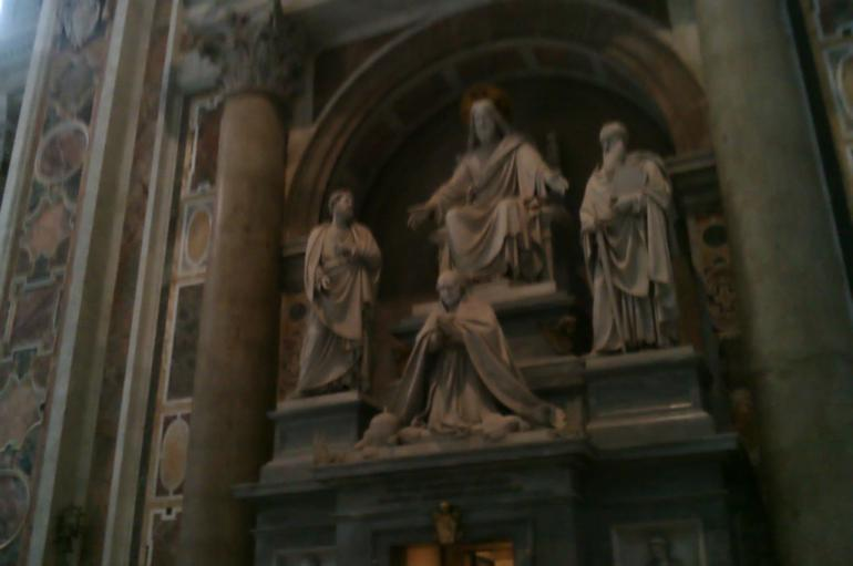In St. Peter's Basilica - Rome
