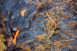 Photo of Big Island of Hawaii Fire and Falls Helicopter Adventure from Hilo Lava flow
