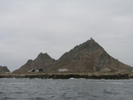 3 buildings on the Farallon Islands - December 2011
