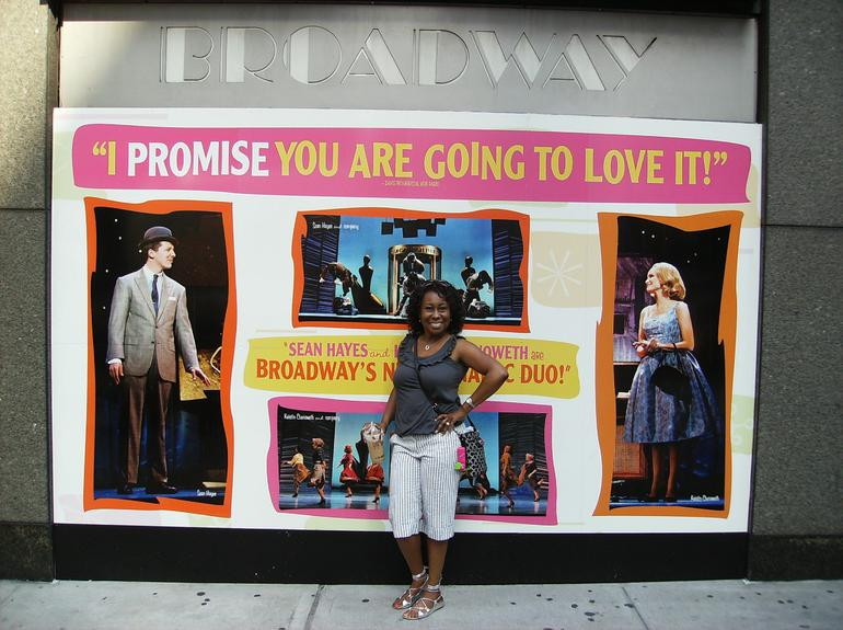 Look whose appearring at the Broadway Theater - New York City