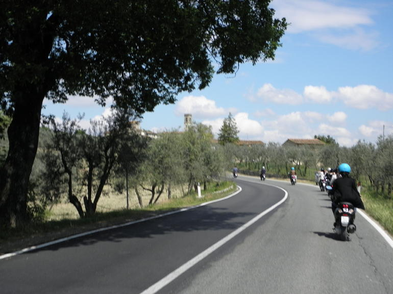 On the road - Florence