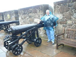 A bit wet Stirling Castle , Dianne S - September 2012