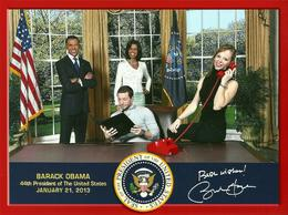Photo of New York City Madame Tussauds New York souvenir avec Barack et Michelle O'Bama