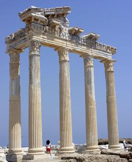 Photo of Antalya Perge, Aspendos and Manavgat Waterfalls Day Tour from Antalya Temple of Apollo, Side