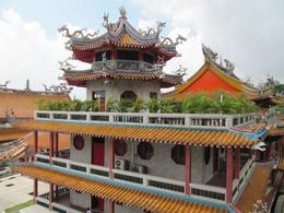 One of the Taoist style temple buildings - June 2010