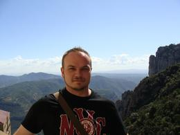 Here I am standing in front of the monestary... check out that view!, TIMOTHY C - September 2010