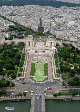 View from the 3rd floor of the Eiffel tower , goldcardluke - August 2014