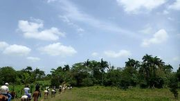 A great view as we trekked through the lovely Dominican countryside. , Allan - September 2015