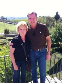 Mike and Cheryl McAdam - Wine Tour Tuscany 9/2012 , Cheryl Tynes M - October 2012