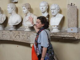 in the Vatican museum , Peter D - April 2014