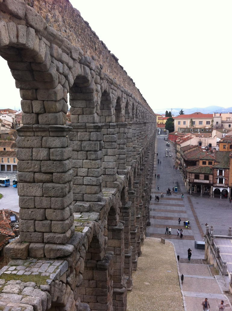 Aqueduct in Segovia - Madrid
