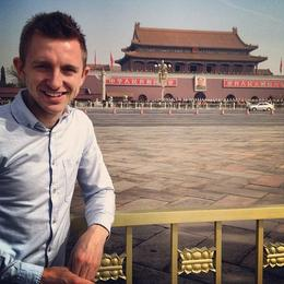 Outside of the Forbidden City, Asha & Brock - July 2013