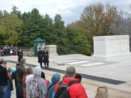 That is the famous Tomb of the Unknown Soldier., Irene - November 2012