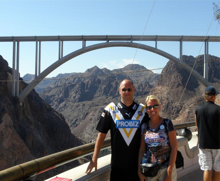 Chris and Kay from Castleford, Yorkshire, England - Las Vegas