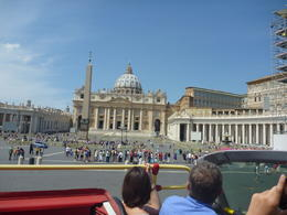 Photo of Rome Rome Hop-On Hop-Off Sightseeing Tour from the bus in roma