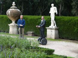 Photo of Rome Rome Segway Tour: Villa Borghese Jardin de la villa  - Garden in the villa Borghese