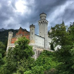 Neuschwanstein before the storm , Dana H - June 2016