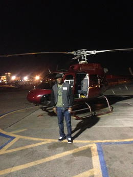 Photo of Las Vegas Deluxe Las Vegas Helicopter Night Flight with VIP Transportation Night Flight
