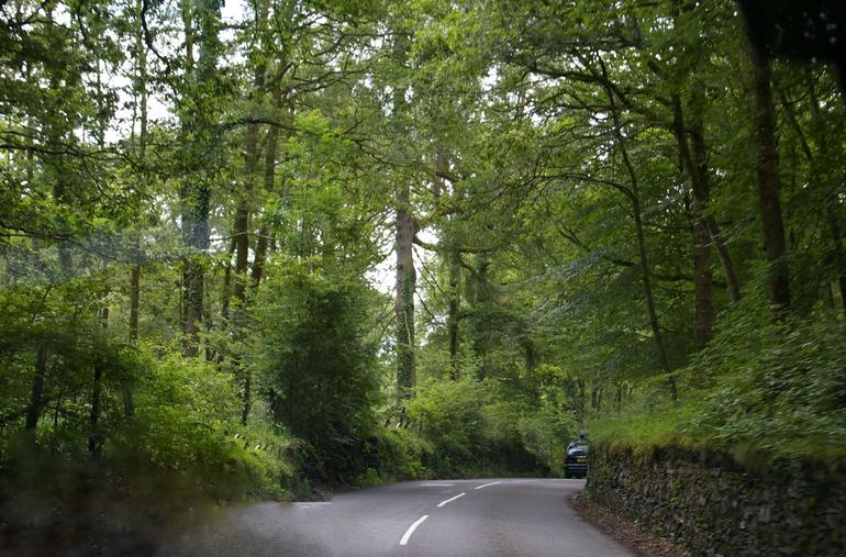 On the road - Windermere