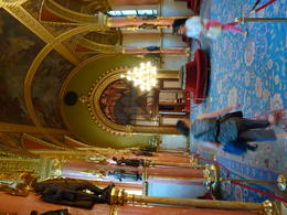 Inside Parliament House. That's gold leaf on the ceiling and arches. , Christine A - October 2011