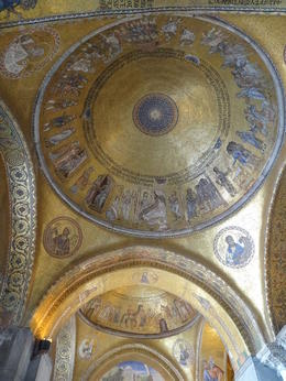 Photo of Venice Skip the Line: Venice Walking Tour with St Mark's Basilica Some of the ceilings