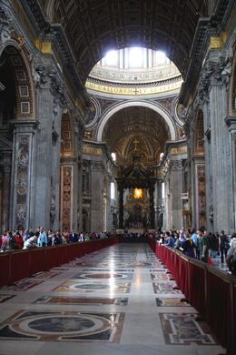 Photo of Rome Skip the Line: Vatican Museums, Sistine Chapel and St Peter's Basilica Half-Day Walking Tour St. Peters Basilica