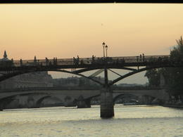 Photo of Paris Eiffel Tower Dinner and Seine River Cruise Sunset on the Seine
