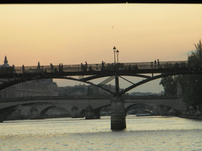 Sunset on the Seine - Paris