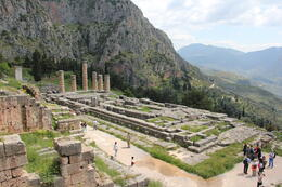 Photo of Athens Delphi Day Trip from Athens Temple Opollo