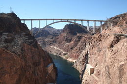 Taken from the top of Hoover Dam while on are tour , Robert L - November 2015