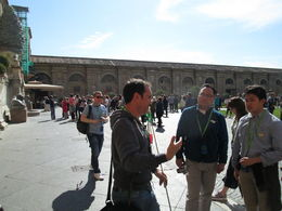 Our guide, Alfredo, shares his knowledge and enthusiasm for the Vatican treasures. , Andrew L - May 2016