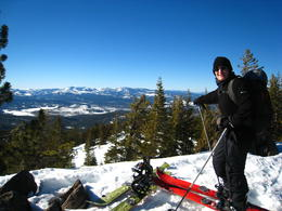 Photo of Lake Tahoe Ski or Snowboard Rental in Lake Tahoe View from Martis Peak