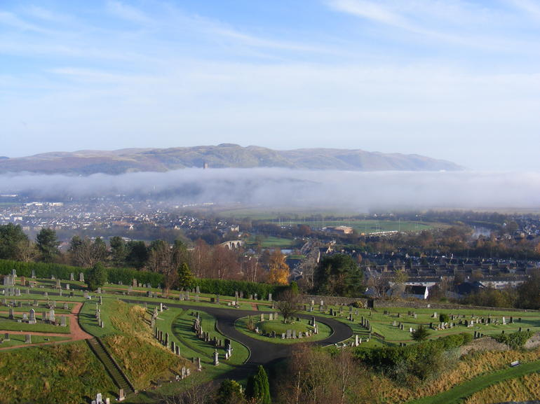 View from Stirling Castle - Edinburgh