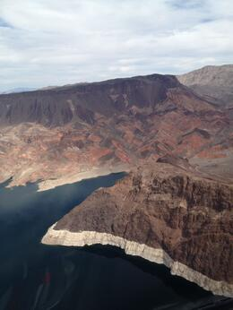 Photo of Las Vegas Grand Canyon All American Helicopter Tour View on the way to the grand canyon