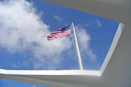 Photo of Maui Oahu Day Trip: Pearl Harbor, Honolulu and Punchbowl from Maui American pride