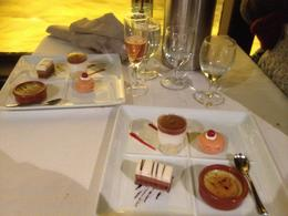 Photo of Paris Dinner Cruise on the Seine River with Hotel Pickup Delicious Desert