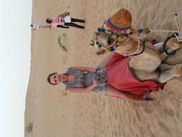 Camel Ride , Lauren - September 2014