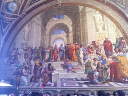 Photo of Rome Skip the Line Vatican Museums Walking Tour with German-Speaking Guide: Sistine Chapel and St Peters Basilica Die Stanzen des Raffael