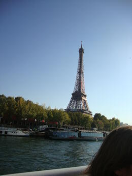 Photo of Paris Skip the Line: Eiffel Tower Tickets and Small-Group Tour Eiffel tower from Tour boat