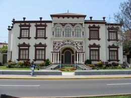 School of Engineering in the Miraflores District in Lima., Bandit - December 2010