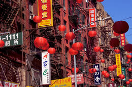 Photo of   Facade in Chinatown, New York