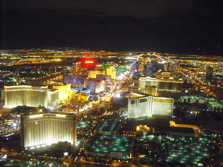 From the helicopter - Las Vegas