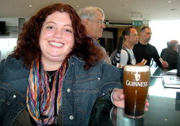 Free Guinness on Top Floor , Lora G - October 2011