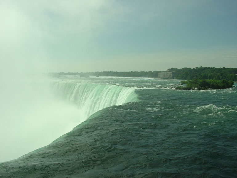Horseshoe Falls from top observation deck, Niagara Falls