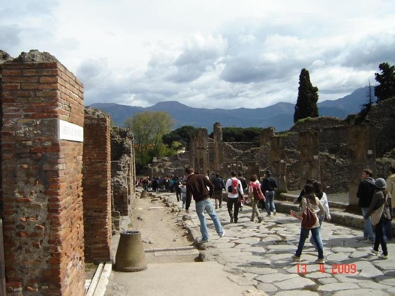 Inside the city of Pompeii - Rome
